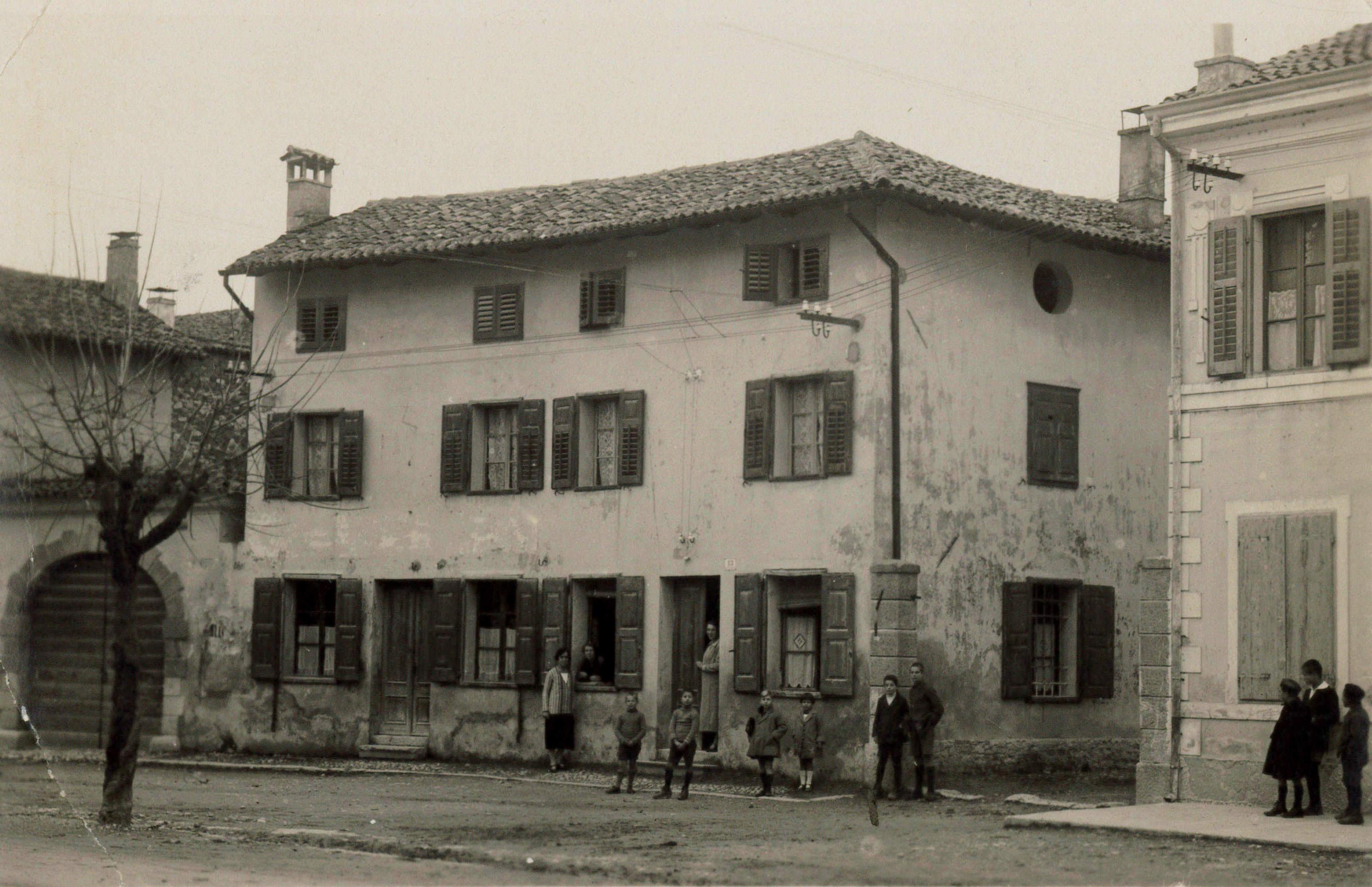 1924 casa Kurz - Gregori Cervignano via Del Porto poi via XXIV Maggio