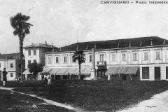 Casa Gortani (oggi Francovigh) da ta braida. Oggi Piazza Indipendenza