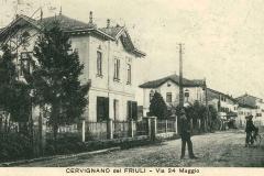 Casa del telegrafo civile, in una foto dei primi del novecento